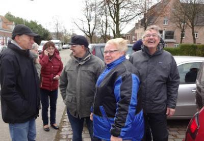 Wandeling te Westmalle met achteraf Frikandellen met krieken 20 november 2016 (2)